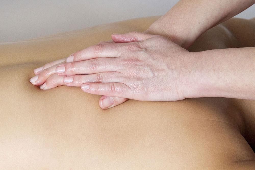 Massage van de rug - Senang